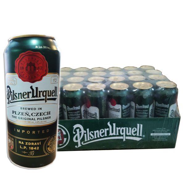 Bia lon Pilsner Urquell 500ml (Cộng Hòa Czech) (Thùng 24 Lon)