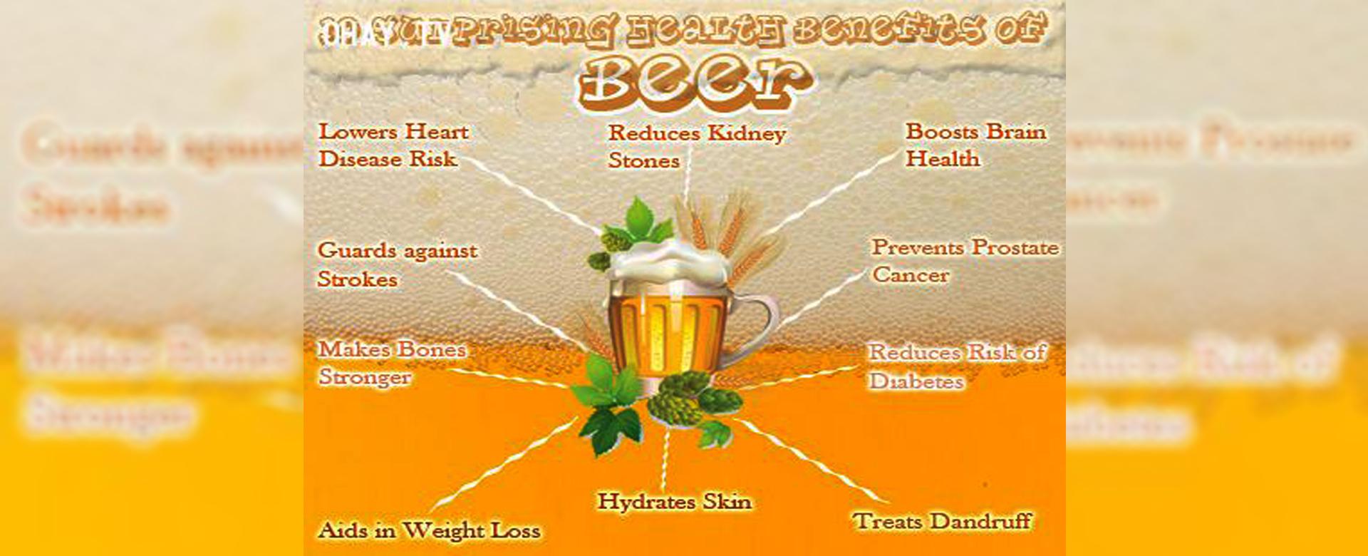 Nếu bạn từng nghĩ uống bia chỉ hại người chứ chẳng có lợi lộc gì thì hãy đọc bài viết sau để khám phá những lợi ích tuyệt vời của nó nhé!
