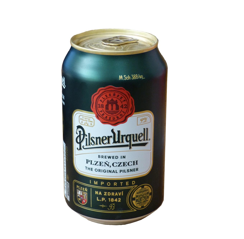 Bia lon Pilsner Urquell 330ml (Cộng Hòa Czech) (Thùng 24 Lon)