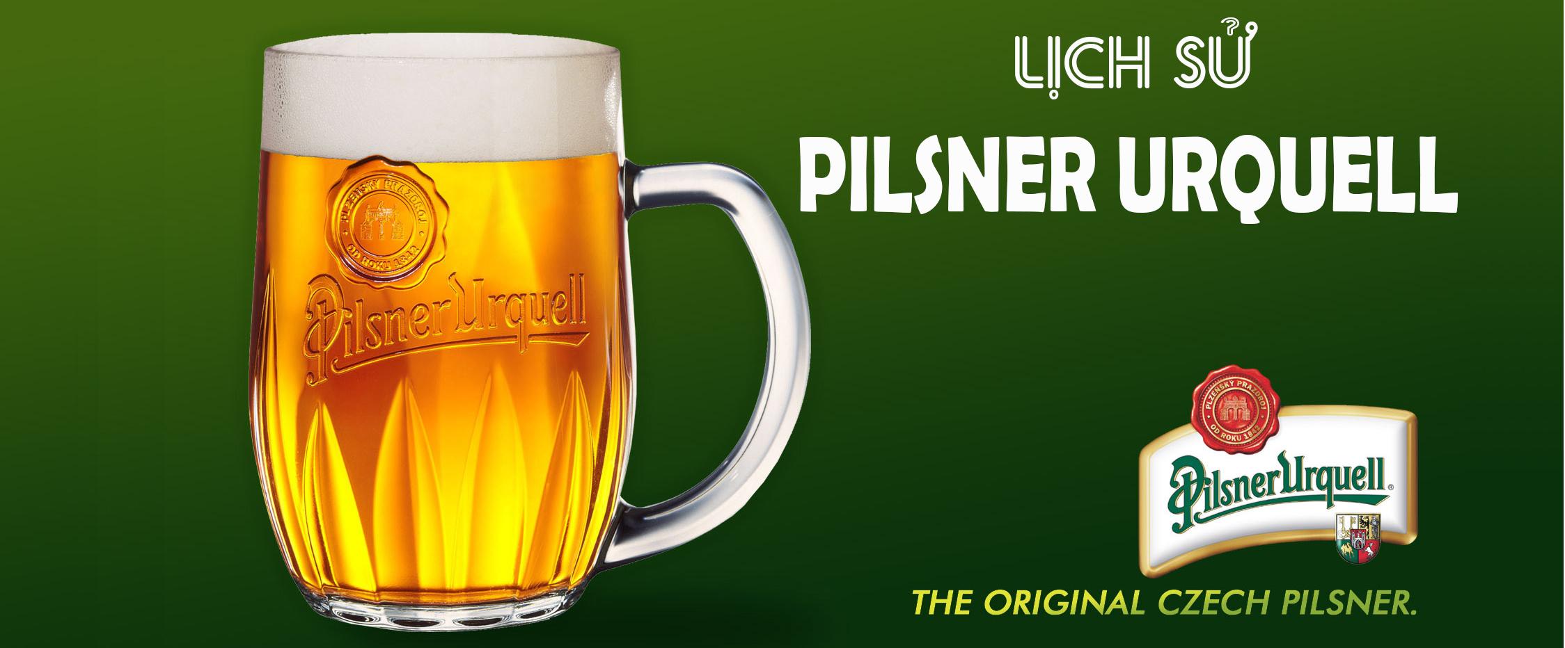 Lịch sử về bia Pilsner Urquell