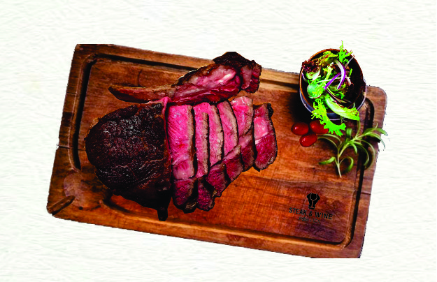 Sườn thăn bò ủ 30 ngày (Dry Aged Bone in Rib Eye Steak 30 days)